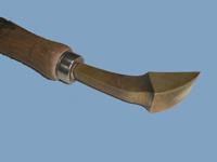 Bruñidor bronce curvo