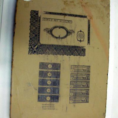 Piedra litografica