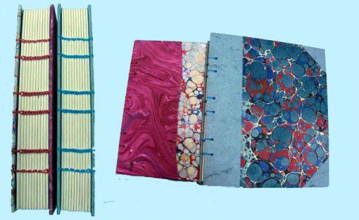Libro costura copta