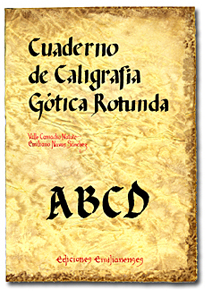 caligrafia gotica rotunda